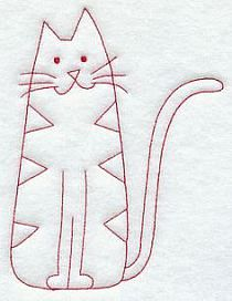 Simple cat shape