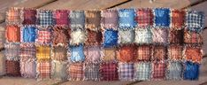 Quilted Homespun Country Primitive Pieced Rug Table Runner Dresser Scarf Side Table Quiltsy Handmade Rag Quilt, Quilts, Just Because Gifts, Quilted Table Runners, Table Toppers, Country Primitive, Hostess Gifts, Have Time, A Table