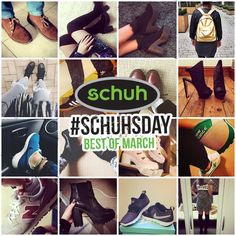 We love seeing all your footwear picks, see our favs from March on the blog.