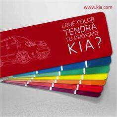 Cuéntanos de qué #color va a ser tu próximo #Kia