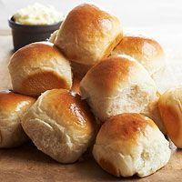 made with mashed potatoes. sign me up! ...Feather Rolls