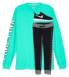 """""""Old draft, but I haven't posted in forever... ♥"""" by emmalw02 ❤ liked on Polyvore featuring Victoria's Secret and NIKE"""