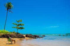 Praia de Coqueiral de Aracruz - Aracruz - ES, Brasil