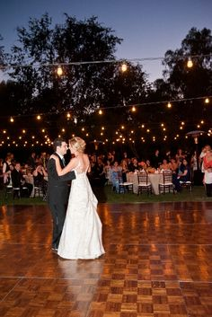 To Have A Canopy For An Outdoor Wedding Reception