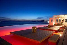 Mykonos at night #Mykonos #mykonos-dreams.com