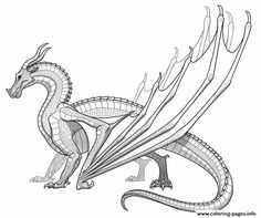Realistic Dragon Coloring Pages Monster Coloring Pages, Cartoon Coloring Pages, Animal Coloring Pages, Printable Coloring Pages, Adult Coloring Pages, Coloring Books, Coloring Worksheets, Free Worksheets, Dragon Base
