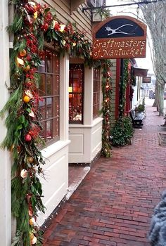 Christmas on Nantucket, Massachusetts, United States