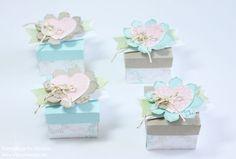 Box Stampin Up Envelope Punch Board Card Box Pillowbox 112