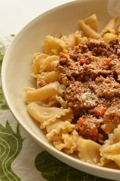 Bolognese Recipe by Giada De Laurentiis