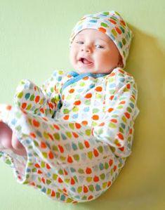 Magnificent Baby onsies - magnetic closures! Genius.
