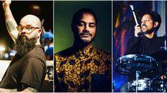 Quim Albergaria, Riot e Ivo Costa formam o grupo que este sábado, dia 28, se estreia ao vivo no MusicBox, em Li...