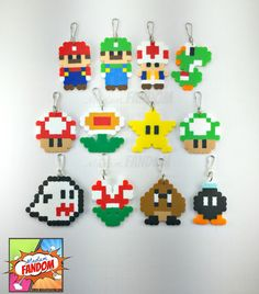Its-a party! You are purchasing a set of 12 Party Favors, inspired by the Super Mario video games, that includes 1 of each character pictured. Each