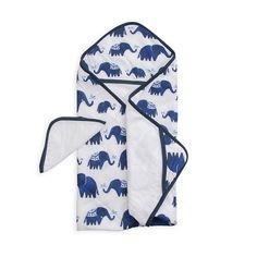Little Unicorn | Hooded Towel Set | Indie Elephant | $34.99 | ECOBUNS BABY + CO. | www.ECOBUNS.com