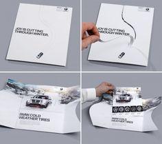 Креативная #reklama №1k163 — Зимние шины от BMW: Наслаждайтесь зимней ездой | Конспект экономиста:)