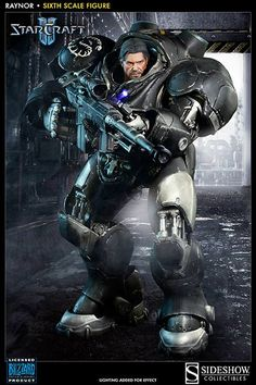 Starcraft Raynor Sixth Scale Figure by Sideshow Collectibles   Sideshow Collectibles