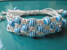 DIY Macramé Bracelet with Beads || Handmade jewelry from A to Z