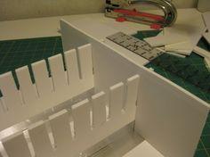 foam core board ink pad storage - http://messageinafold.wordpress.com/2012/04/03/ink-pad-storage-from-foam-core-board-part-2/