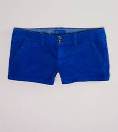 BLUE BLUE BLUE, AE TWILL FAVORITE shortie SHORTS 20% off sale price meant I got them for $19.99 yay!
