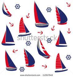 Pattern Sail Vectores en stock y Arte vectorial | Shutterstock
