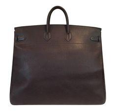 "Hermes HAC Bag 55 Brown - 21""w x 20""h x 10.5""d"