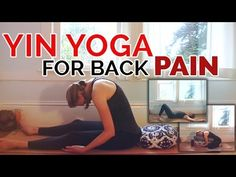 Soothing Yin Yoga for Back Pain (30-Min) Optional Playlist - Brett Larkin Yoga