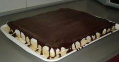 Výborný koláčik z tvarohu a jednoduchého cesta. nakoniec len prelejte čokoládou a je to. U nás doma ho máme veľmi radi. Keď ho ochutnal môj [...] Griddle Pan, Tiramisu, Food And Drink, Sweets, Cookies, Baking, Ethnic Recipes, Desserts, Amazing Cakes