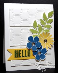 Mary Brown: SUO challenge 62  layout and flower layering caught my eye TJ