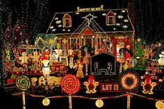 House Christmas Lights   ... Outside House Christmas Lights Decorating Photo Ideas Pinboards