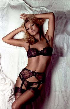 Agent Provocateur - Kate Moss. #provestra
