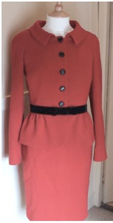 Luisa Spagnoli suit, dress & jacket, worn to St. Andrews University  Suit