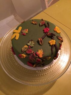 Herfsttaart / Autumn Cake - 2 (November 2015)