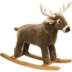 deer rocking horse