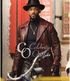 Price: $170.00 Suicide Squad Deadshot Brown Jacket Coat http://www.celebritiesoutfits.com/will-smith-suicide-squad-deadshot-jacket