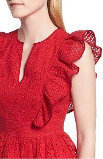 New dress maxi formal red 16 ideas Kurti Sleeves Design, Sleeves Designs For Dresses, Dress Neck Designs, Kurti Neck Designs, Sleeve Designs, Blouse Designs, Stylish Dresses, Simple Dresses, Casual Dresses