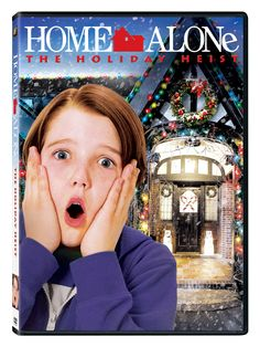 """DVD: """"Home Alone: The Holiday Heist"""" Giveaway ends 11/18"""