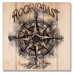 Daydream Sailor Rocky Coast Indoor/Outdoor Wall Art - WSARC1717