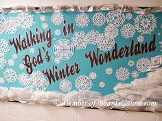walking in God's Winter Wonderland