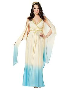 Athena Blue Adult Womens Costume - Spirithalloween.com