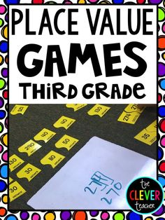 These games are great for math reviews, math centers, math rotations, or early…
