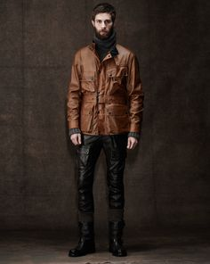 Belstaff Men's Pre-Fall 2014 Look 1