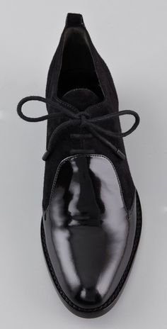 Black oxfords--alexander wang