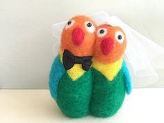 Hey, I found this really awesome Etsy listing at https://www.etsy.com/listing/243710287/love-birds-wedding-cake-topper-love