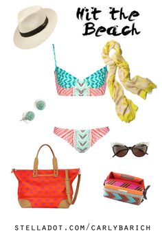 With this brutal winter, so many people are taking off to find a beach, drink a margarita, and dig their toes in the sand. I for one, can't wait for summer. Palm Springs Citrine Scarf, Turquoise Soiree Studs, Getaway Elephant Bag, Frida Pouf, #YEG #Edmonton #YYC #Calgary #Hawaii #Mexico #BeachWear #ResortWear #CruiseWear #Bikini #Fedora #CatEye #StellaDot #outfitinspiration #ootd #StellaDotStyle #