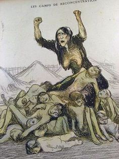 Caricature of the Boer War from LAssiette au Beurre, September 1901 by Jean Veber - Reproduction Oil Painting Francisco Goya, West Africa, South Africa, Bastet, Most Famous Paintings, New York Life, A Day In Life, Oil Painting Reproductions, Zulu