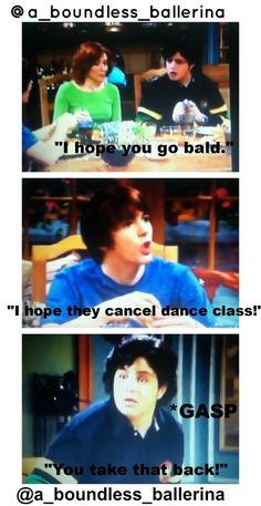 You know you're a dancer when dance class being canceled is as bad as Josh having Oprah canceled.
