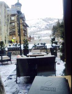Our patio is one of the best people-watching places in Vail. And the most delicious. Chef Paul, Colorado, Tours, Restaurant, Patio, Places, People, Aspen Colorado, Diner Restaurant
