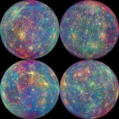Mercury-stunning planet of rainbows.....