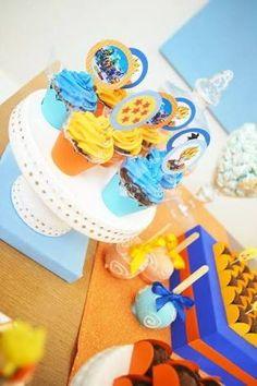 Resultado de imagen para dragon ball z cupcake toppers Dragon Z, Dragon Ball Gt, Ball Birthday Parties, Birthday Party Themes, Dragon Birthday, Boy Birthday, Childrens Party, Baby Boy Shower, Inspiration For Kids