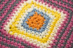 Free Pattern: Particularly Pink Crochet Dishcloth