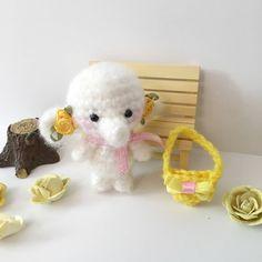 Miniature Elephant Crochet Elephant Toy Amigurumi Elephant Blythe Doll Toy Easter Plush Stuffed Animal Kawaii Fuzzy Elephant Girls Gift by AmiAmiGocco on Etsy